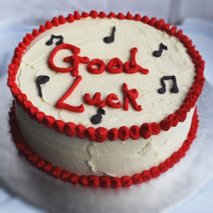 Good luck Vanilla Cake