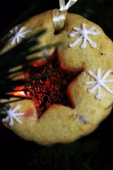 Christmas Cookie with a boiled sweet window!